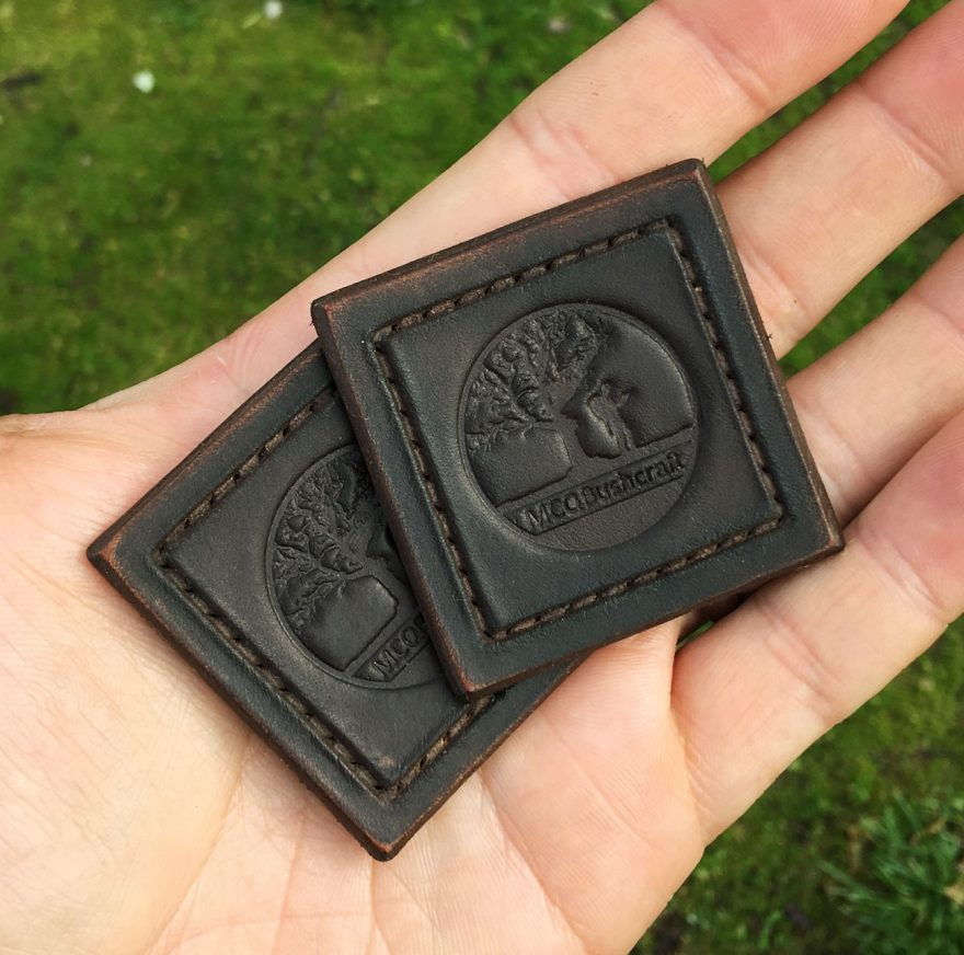 MCQBushcraft Leather Patch